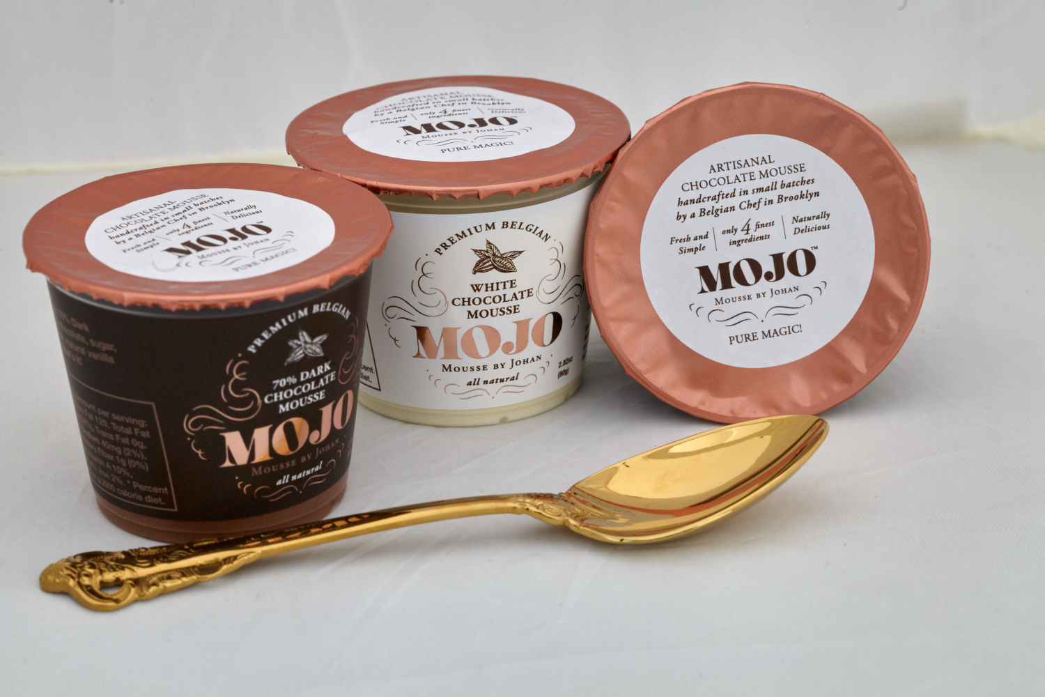 Upgrade Your Pudding Cup with Chocolate Mousse from MOJO Desserts