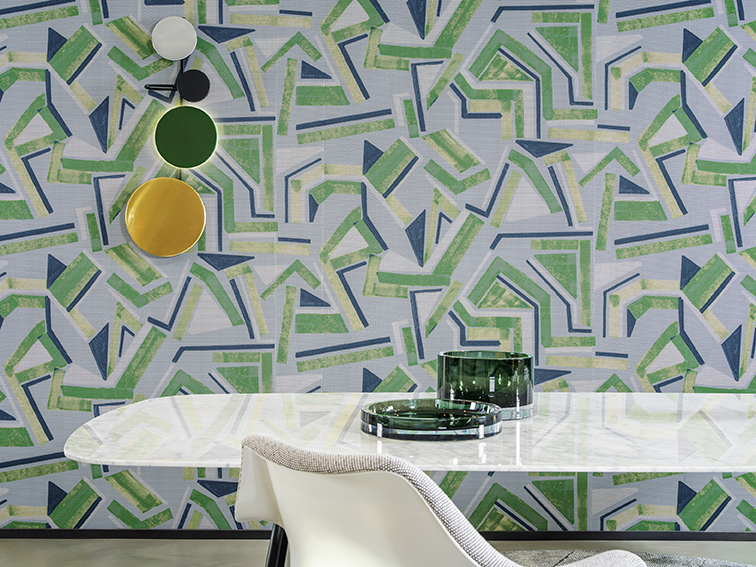 Arte International Launches Vanguard Collection of Wallcoverings Inspired by the Abstract Art of the 1950s and 60s