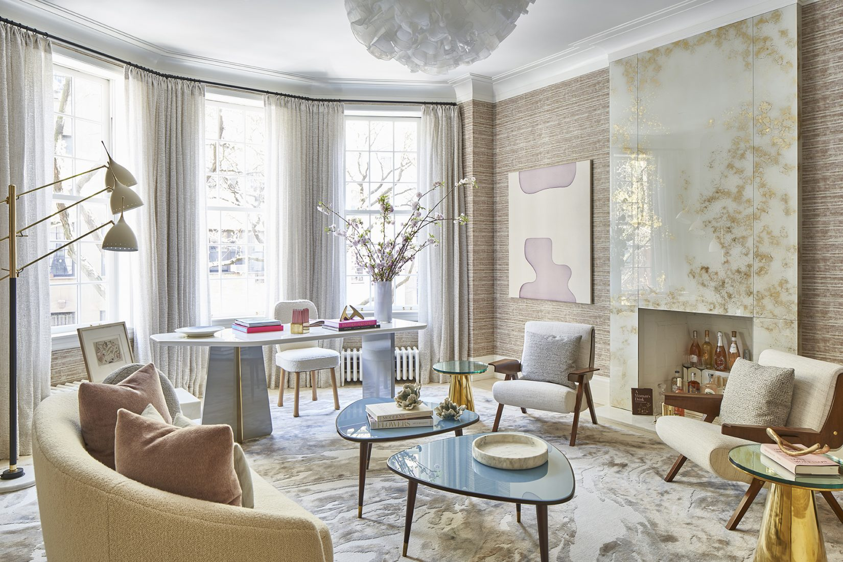 Eve Robinson Pays Homage to Virginia Woolf at the 47th Annual Kips Bay Show House