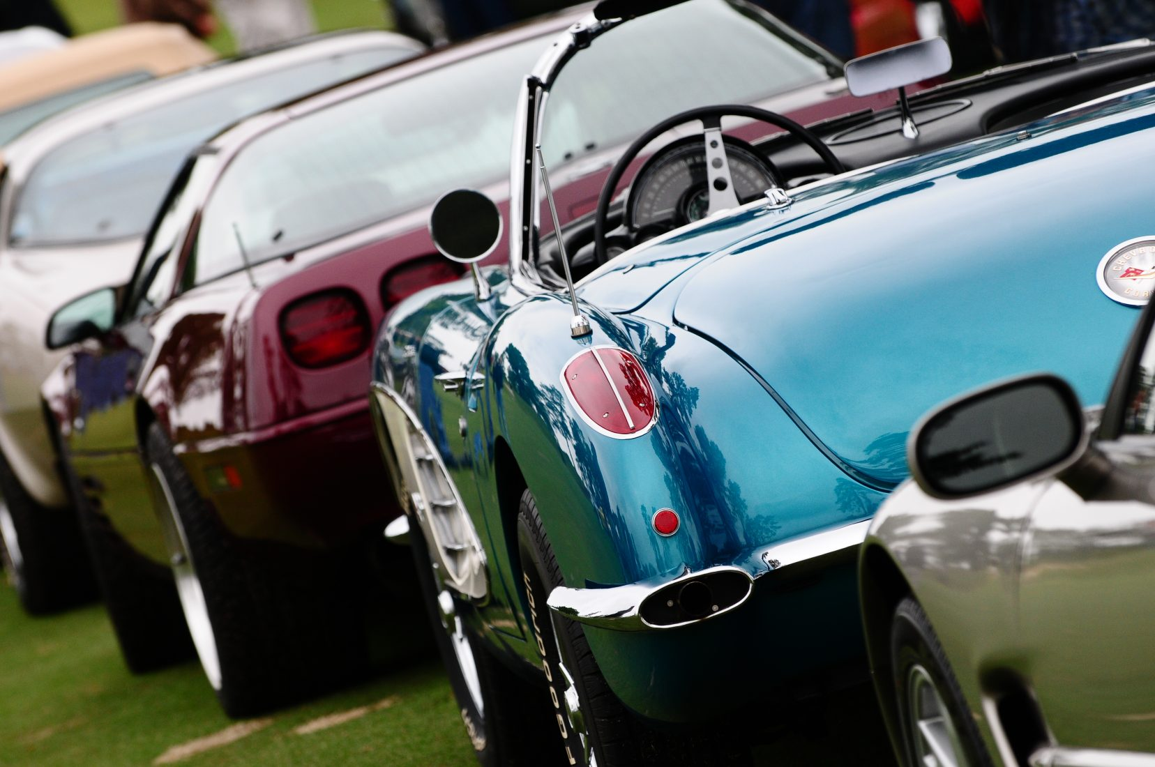 Collector Cars Compete at First Manhattan Concours at Brookfield Place