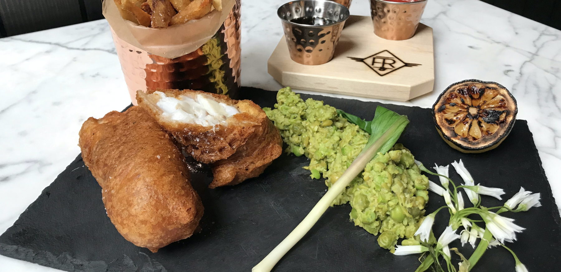 Your Weekly Indulgence: Scorpion Fish & Chips at Fine & Rare