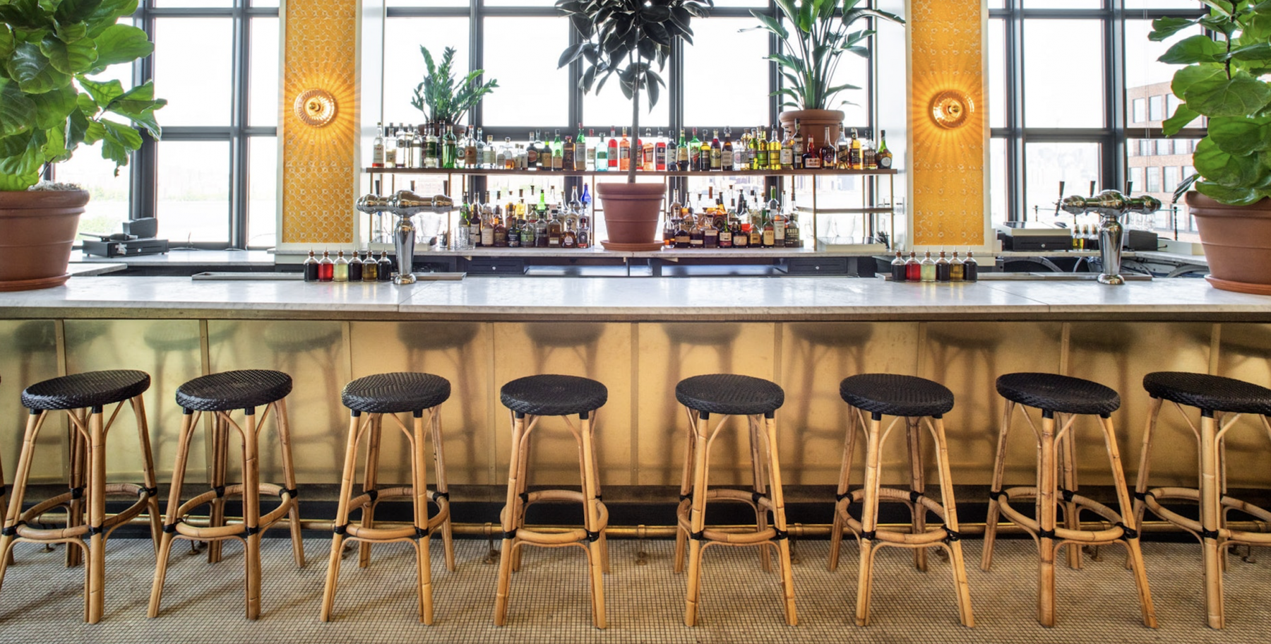 Lemon's at Wythe Hotel is the Place to See and Be Seen This Summer