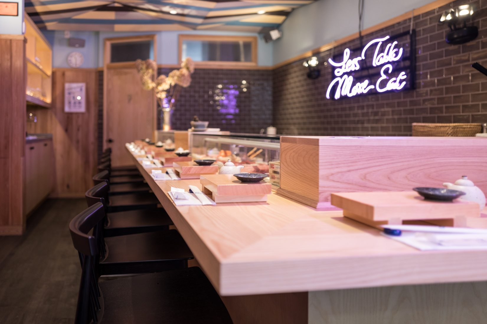 Female Sushi Chef from Japan Prepares Celestial Inspired Meal at Sushi on Jones