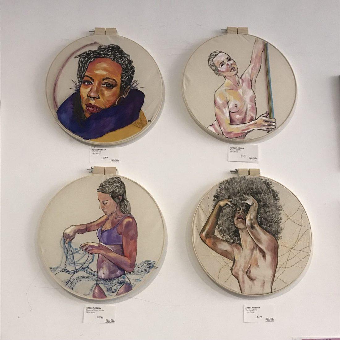 HelloTittie's Creative Chicks Art Event Uplifts Women Making Art