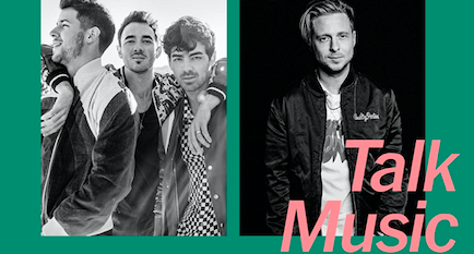 Jonas Brothers and Ryan Tedder Discuss Collaboration at June 13th TimeTalks