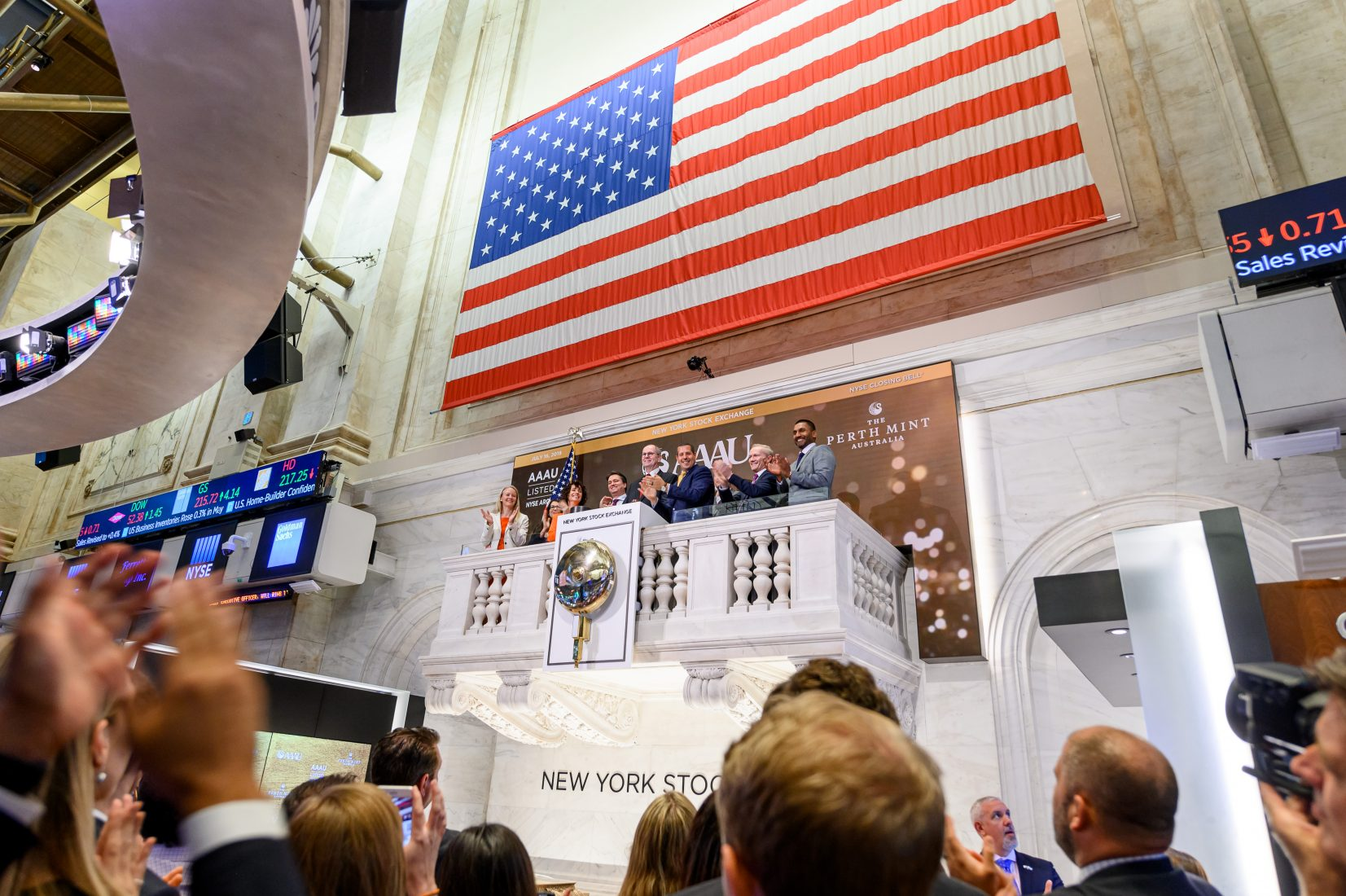 Perth Mint Brings Their Lucky Coin to NYSE