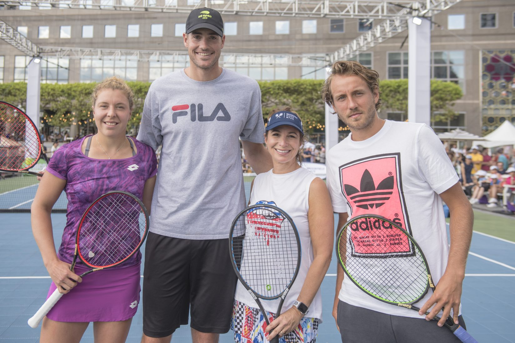 Pictures From The 4th Annual Brookfield Place Open Celebrity Match Event