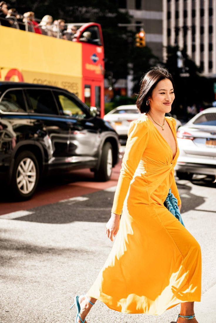 Part 4: Street Style Fashion NYFW 2019 Spotted By Downtown