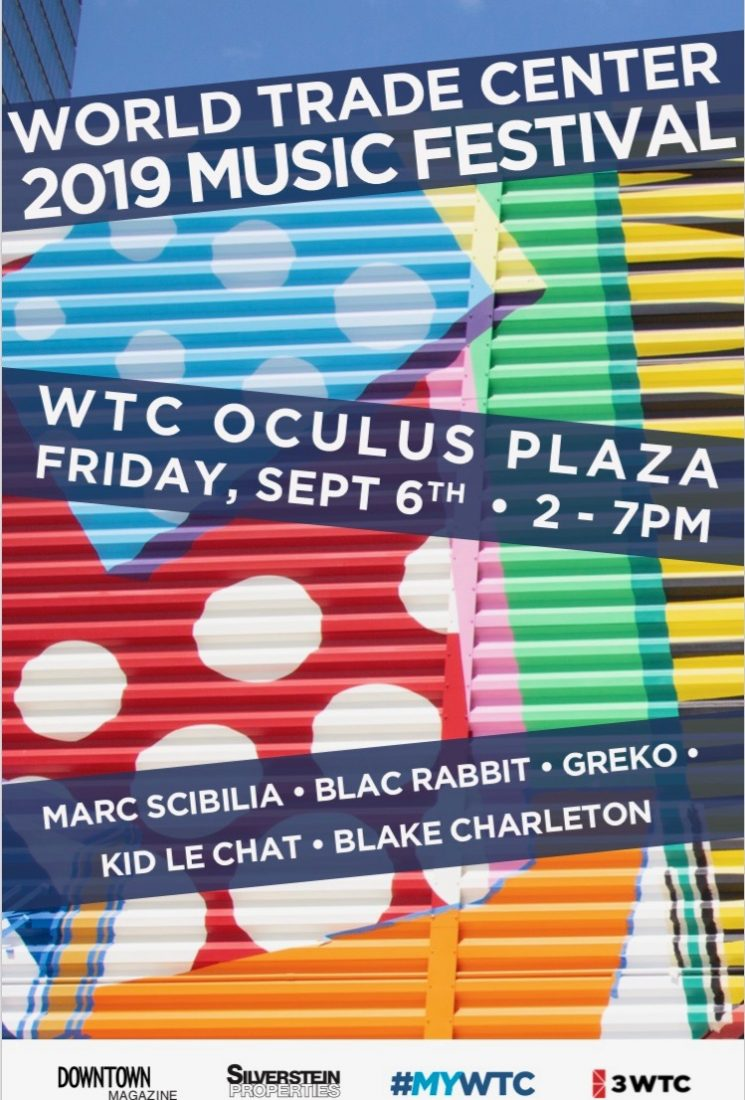 Downtown Magazine and WTC Music Festival – Friday, Sept 6, 2019