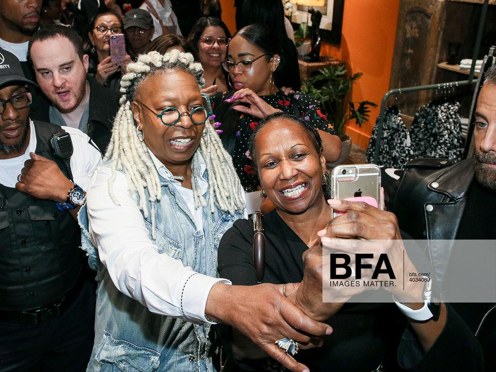 Whoopi Goldberg Opens Shop in the American Dream