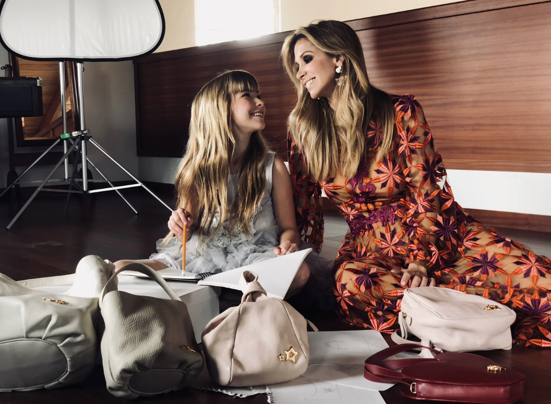 Meet the brand Beamina, with handbags designed by mother-daughter
