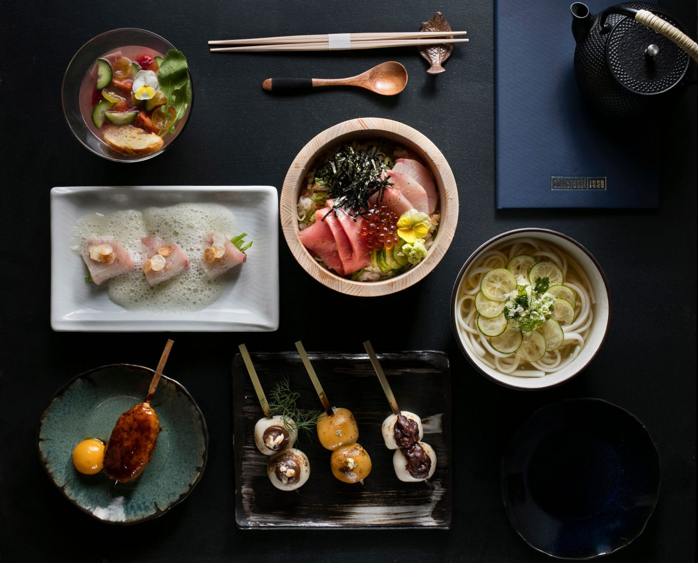 Chikarashi Isso offers a Japanese Kappo-style Meal in FiDi