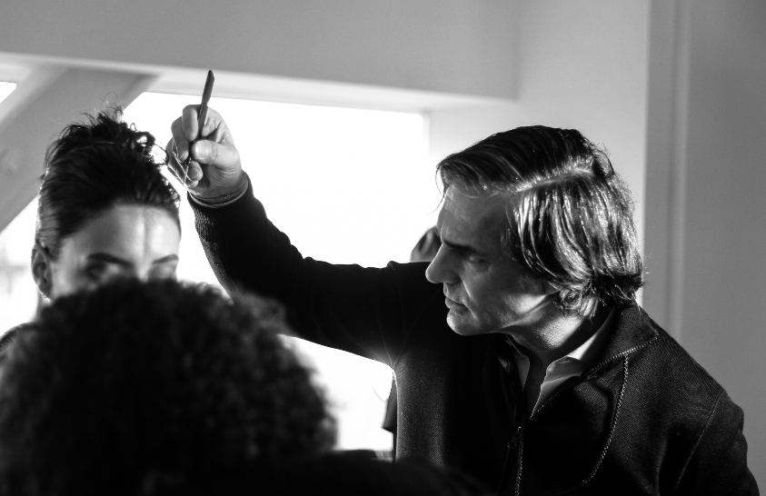 Julien Farel on Dennis Basso New York Fashion Week 2020
