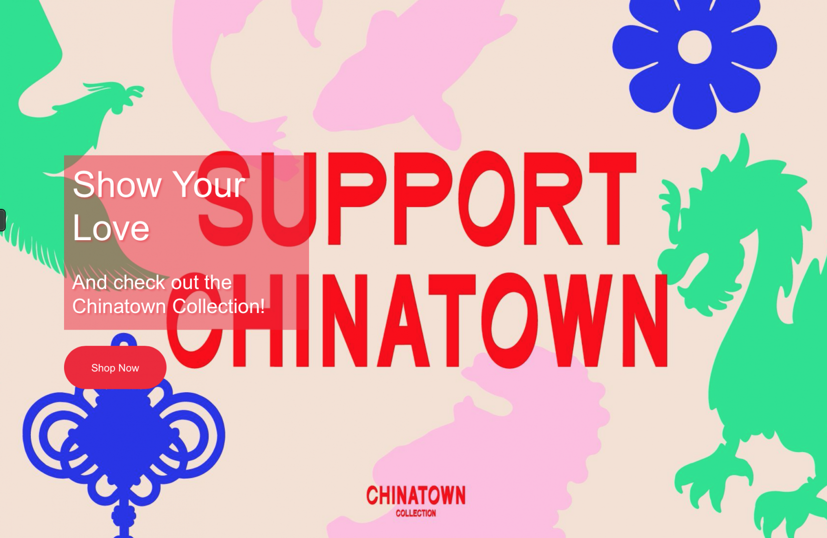 CHINATOWN NEEDS YOU!