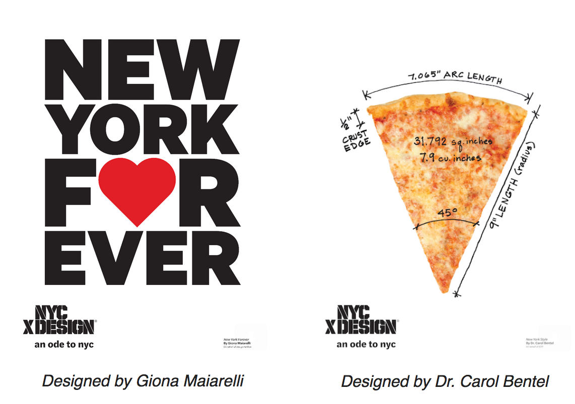 """NYCxDESIGN SPREADS ❤ WITH """"AN ODE TO NYC"""" POSTER CAMPAIGN"""