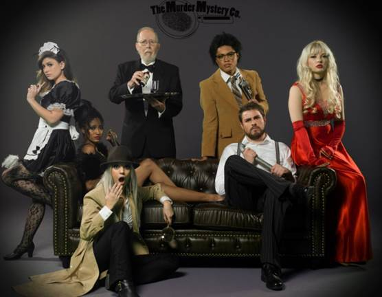 Ampia NYC Partners with The Murder Mystery Company