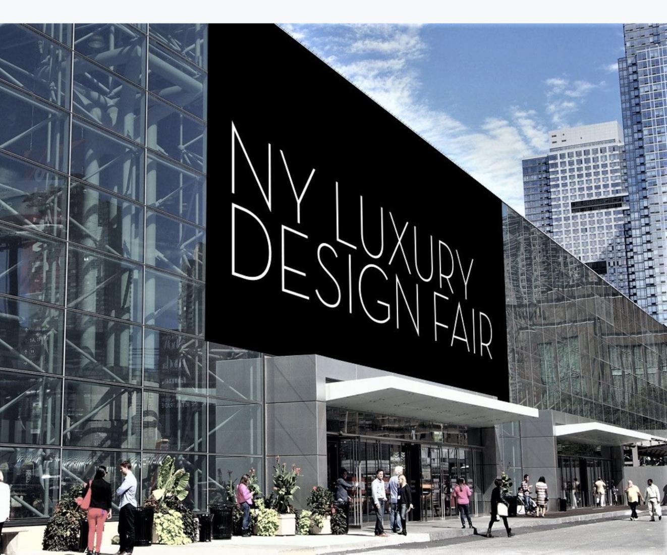 NY Luxury Design Fair To Launch September 9–12, 2021