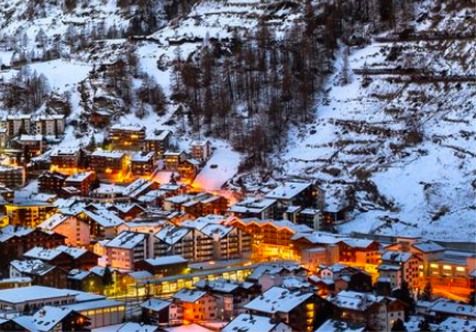 Winter Wonderland in the heart of the Alps