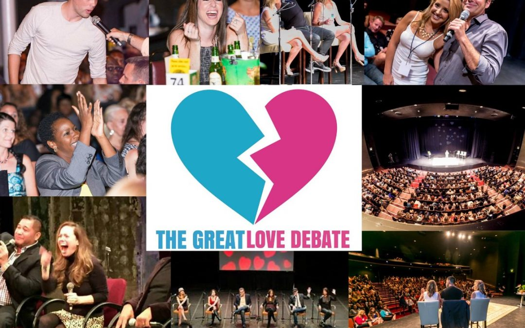 """""""The Great Love Debate"""": Downtown Q&A with Host Brian Howie"""